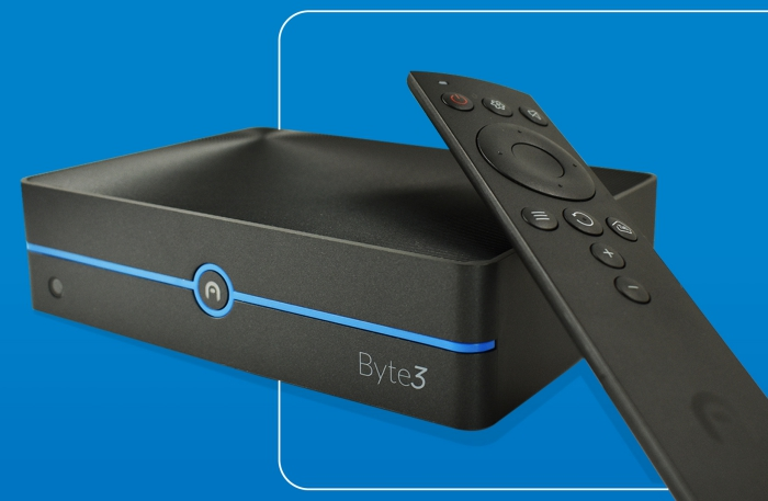 Azulle Byte3 Mini-PC with Remote