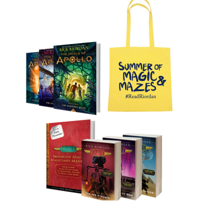 Enter To Win A Rick Riordan Autographed Book & More