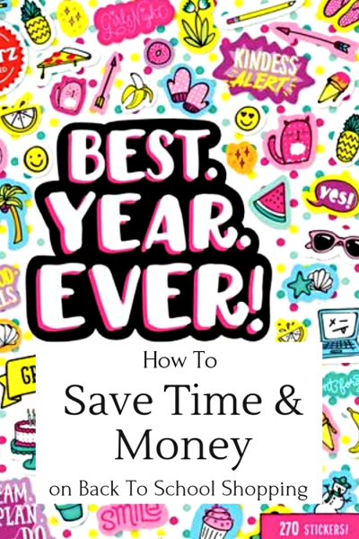 How To Save Time & money Back To School Shopping