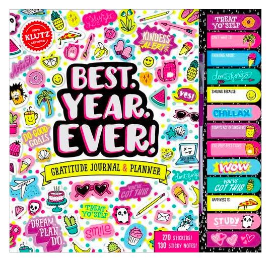 Klutz Best Year Ever Gratitude Journal & Planner