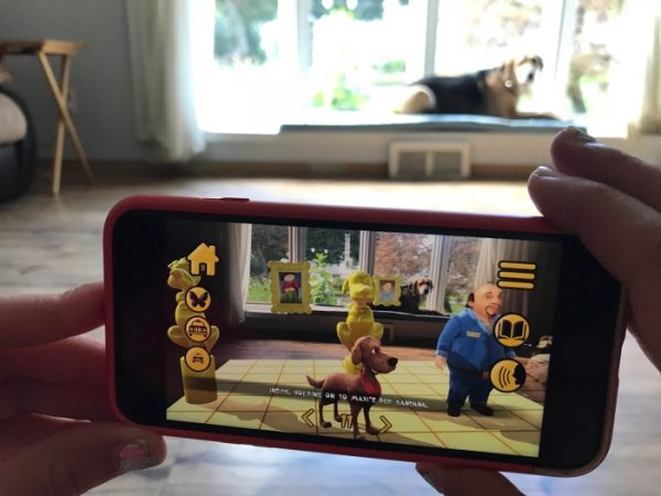 Maxi The Taxi Dog App Review - Augmented Reality For Kids 2 Wired 2 Tired