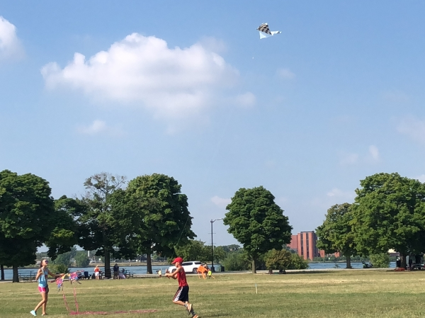 Detroit Kite Festival Family Fun