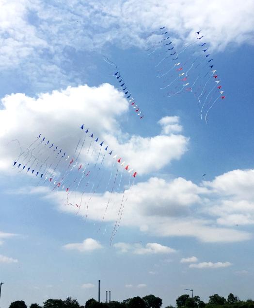 Detroit Kite Festival Windjammers