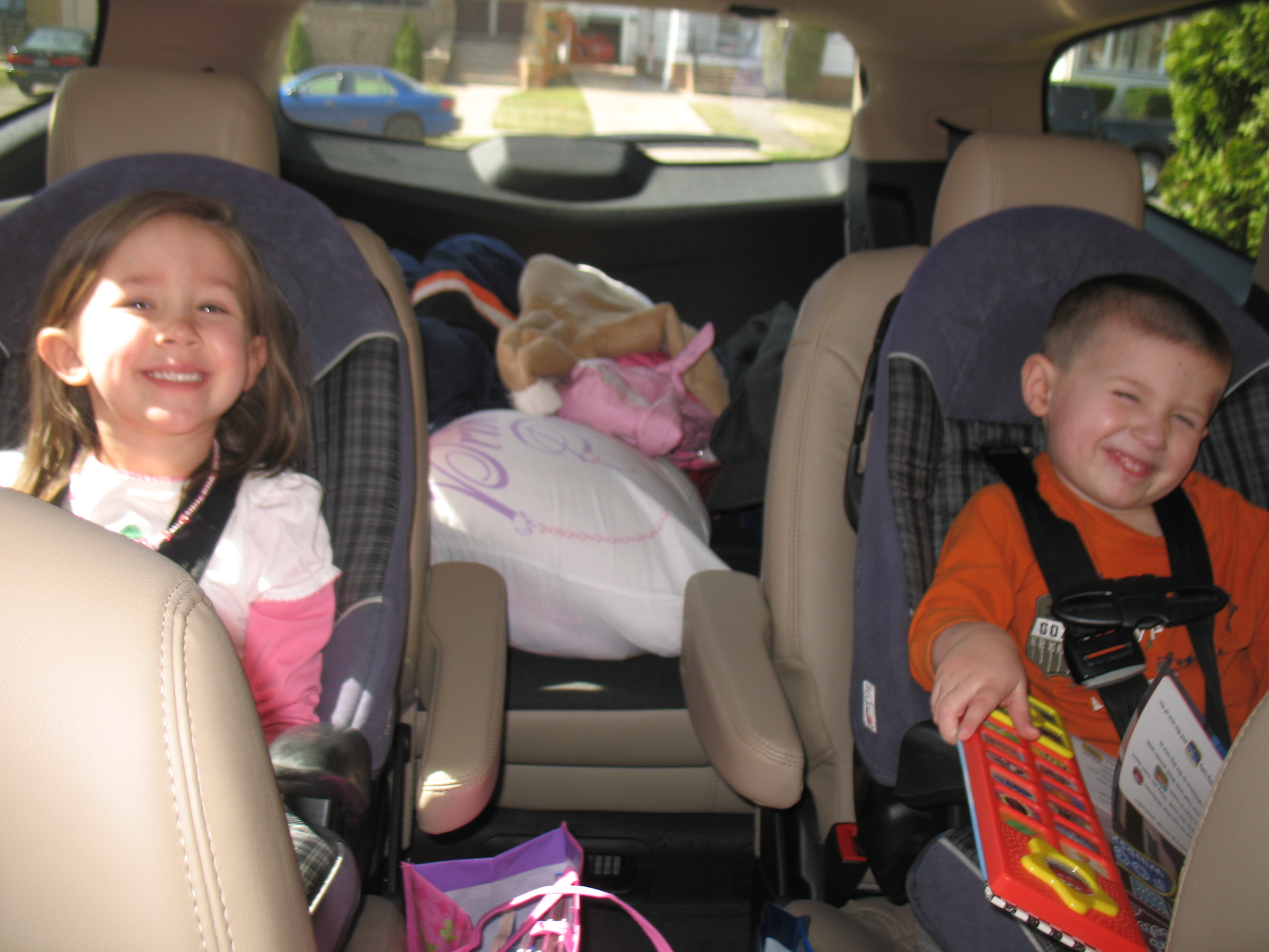 Our Family Road Trip in the Chevy Traverse