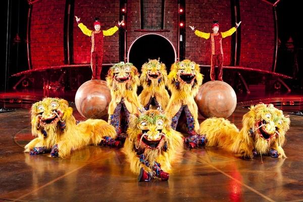 Cirque Dragons