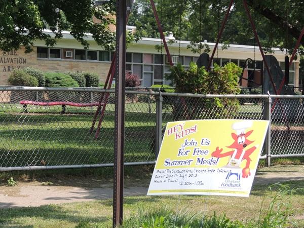 Hunger-Free Summer Cleveland Site Visit