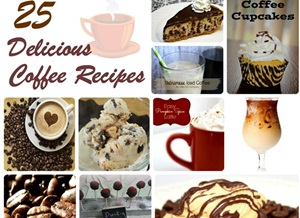 25 Coffee Recipes Featured