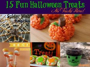 15 Fun & Creative Halloween Treats