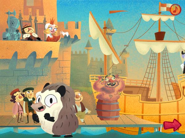 HitStory Kids - Columbus Sails educational toddler app First Episode
