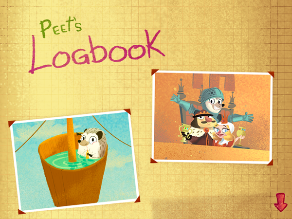 HitStory Kids - Columbus Sails educational toddler app Peet's Logbook