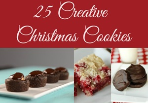 25 Creative Christmas Cookies Featured
