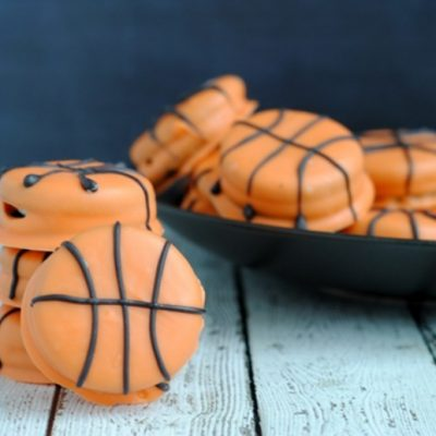 March Madness Recipe: Easy Slam Dunk Basketball Cookies