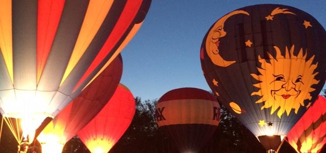 Chagrin Falls Balloon Glow Featured