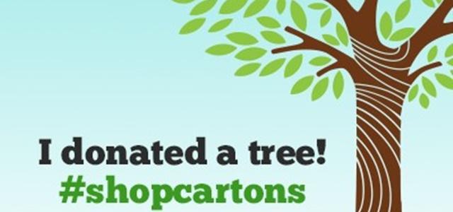 Choose Cartons & Help Donate A Tree