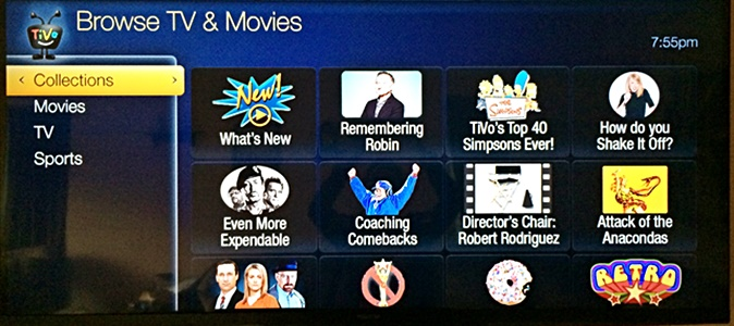 Tivo Collections