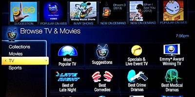 TiVo Collections Featured
