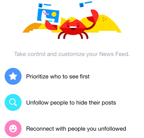 How To Pick Who You See First In Facebook