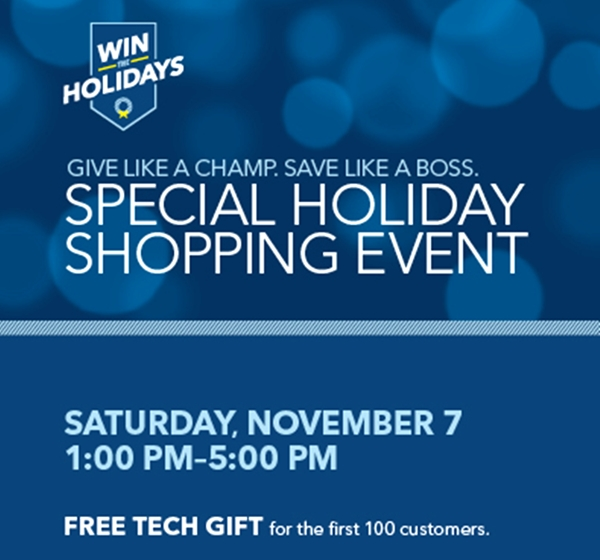 Amazing Deals, Free Gifts, Demonstrations, & More At The Best Buy Holiday Shopping Event