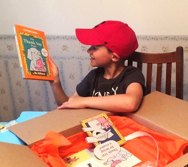Elephant & Piggie The Thank You Book, Mo Willems Thankorama Fun, & A Prize Pack Giveaway