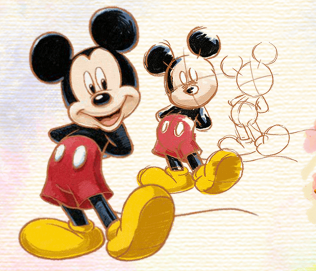 Learn How To Draw Disney Characters