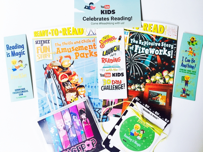 Kick Off Summer & #ReadAlong With YouTube Kids