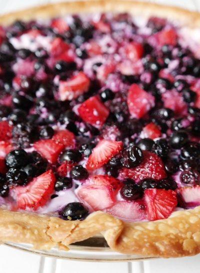 Berries & Cream Pie