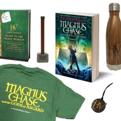 Magnus Chase & The Gods Of Asgard Book 2: The Hammer Of Thor Prize Pack Giveaway