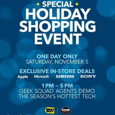Holiday Gifting Made Easy At The Best Buy Special Holiday Shopping Event