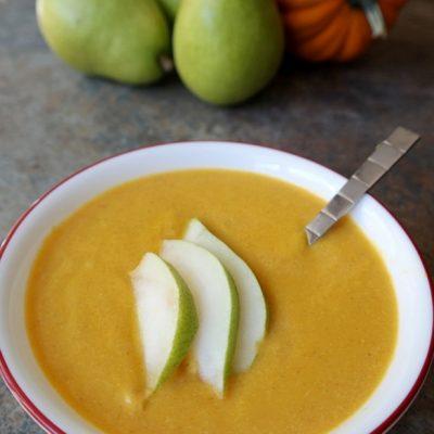 Delicious & Flavorful Fall Recipe: Pear & Pumpkin Soup