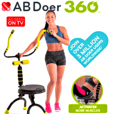 Reader Giveaway: Enter To Win An Ab Doer 360 – $199 Value