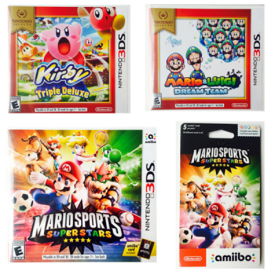 Nintendo 3DS Games Gift Guide