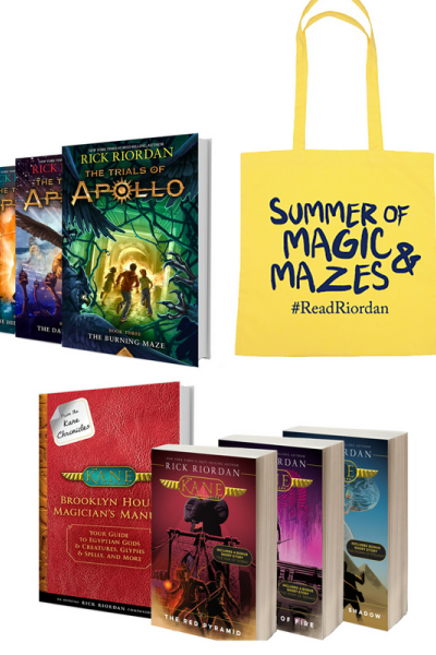 Rick Riordan Summer of Magic & Mazes