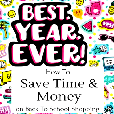 How To Save Time & Money On Back To School Shopping